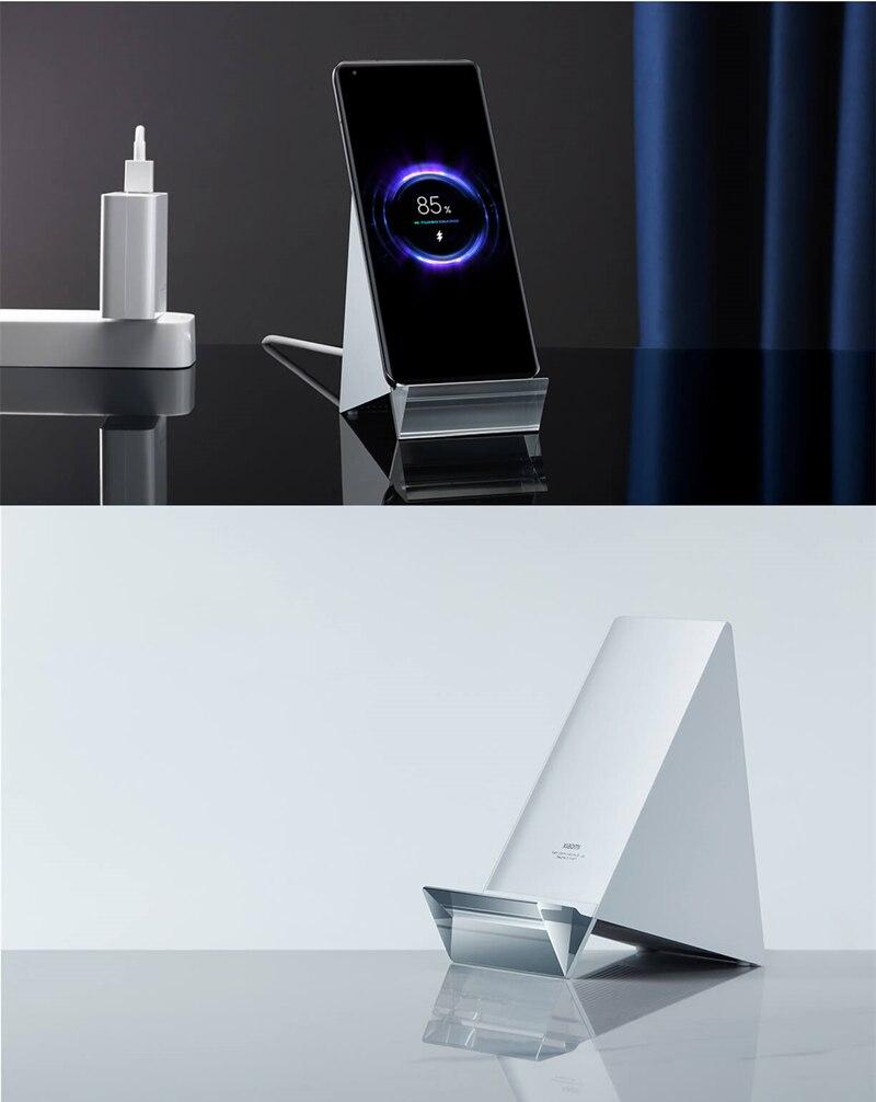 Xiaomi Mi Wireless Charger 80W, el cargador más potente de Xiaomi para el Mi 11 Pro y Mi 11 Ultra
