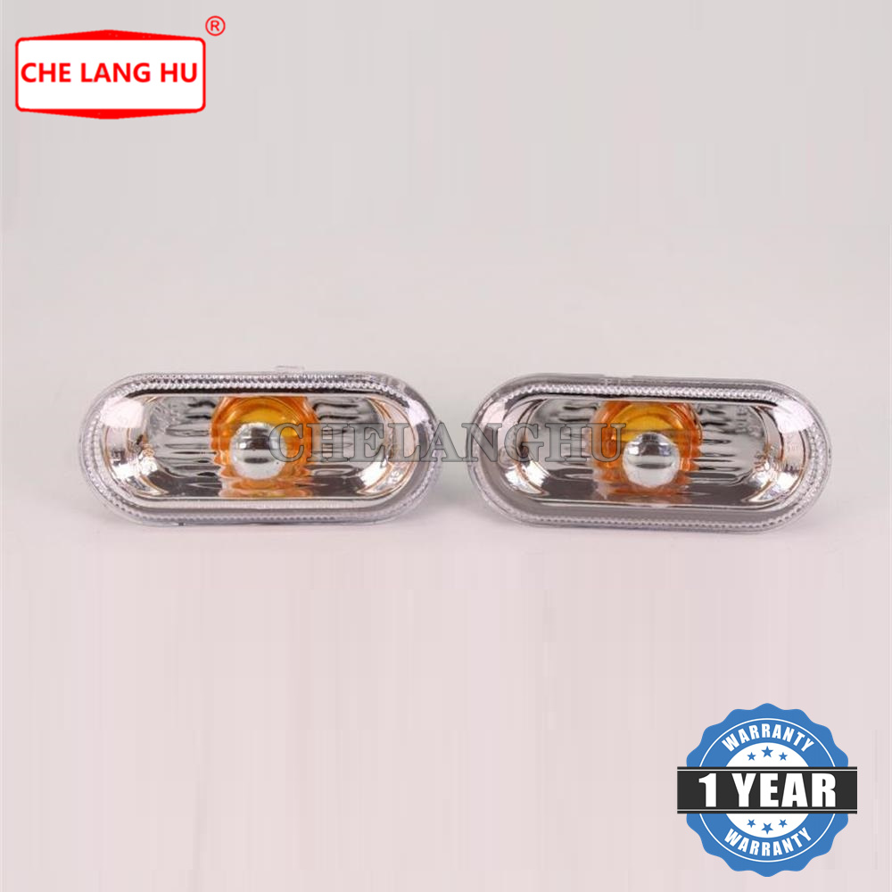 CITALL Amber Side Marker Indicators Repeaters Light Clear