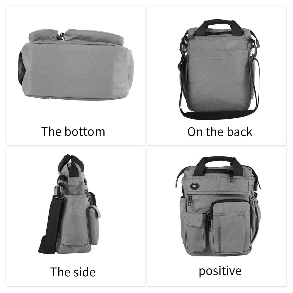 Multi-functional Shoulder Bag with Headphone Hole Outdoor Camping Portable Crossbody Bag Ravel Large Capacity Storage Handbags