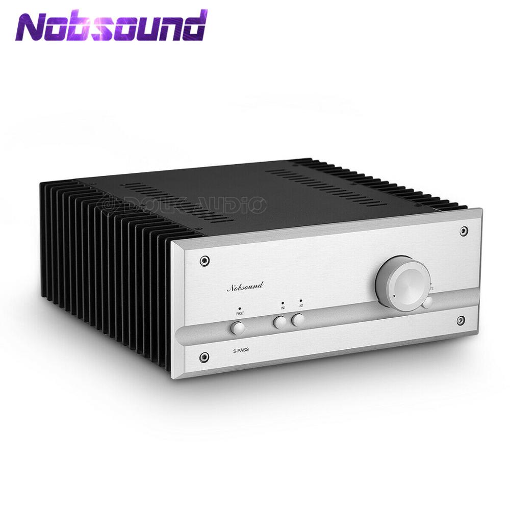 Nobsound Class A Power MOSFET Amplifier Stereo HiFi Handmade 35W*2 Multi-Audio PASS High Power Amplifier