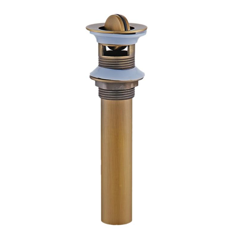 Ванная комната сосуд до раковины сливной фильтр Флип Топ стопор для туалета бассейна антикварные доступны для предотвращения засорения - Цвет: 5