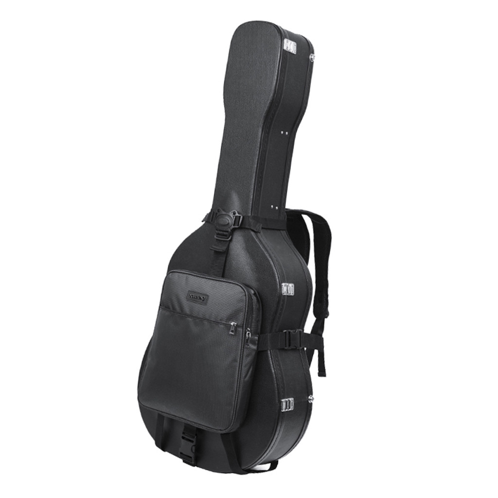 Guitar Case, Guitar Soft Case Oxford Waterproof Shockproof Padded Guitar Case For Acoustic And Classical Guitar, Black