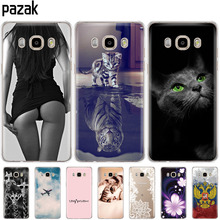 Silicone phone Case For Samsung Galaxy J7 2016 Cases J710 J710F Cover FOR Samsung J7 2016 Coque etui bumper 360 full protective