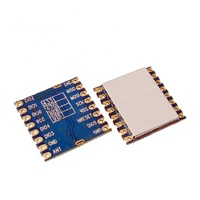FCC LoRa1276-C1 100mW SPI 868 MHz/915 MHZ 4KM SX1276 Lora беспроводной модуль большой дальности LoRaTM, FSK, GFSK, OOK IOT для умного дома