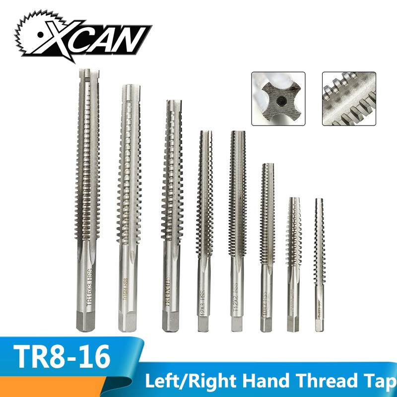 New 1pc High Quality TR8 x2  Trapezoidal Metric HSS Right Hand Thread Tap