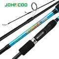 JOHNCOO VORIA 1,98 2,1 2,4 2,7 m caña de pescar giratoria ML M MH caña de pesca de alta calidad de acción rápida