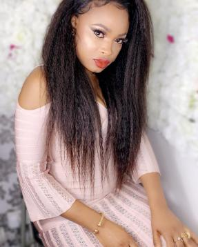 Kinky Straight 13x4 Lace Front Wigs For Women 360 Lace Frontal Wig Pre Plucked With Baby Hair Long Remy Yaki Human Hair Wigs photo review