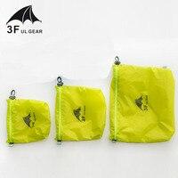 3F UL GEAR 15D силиконовая 30D Cordura Водонепроницаемая сумка для хранения одежды, сумка для хранения мусора, сумка для хранения, сумка для плавания