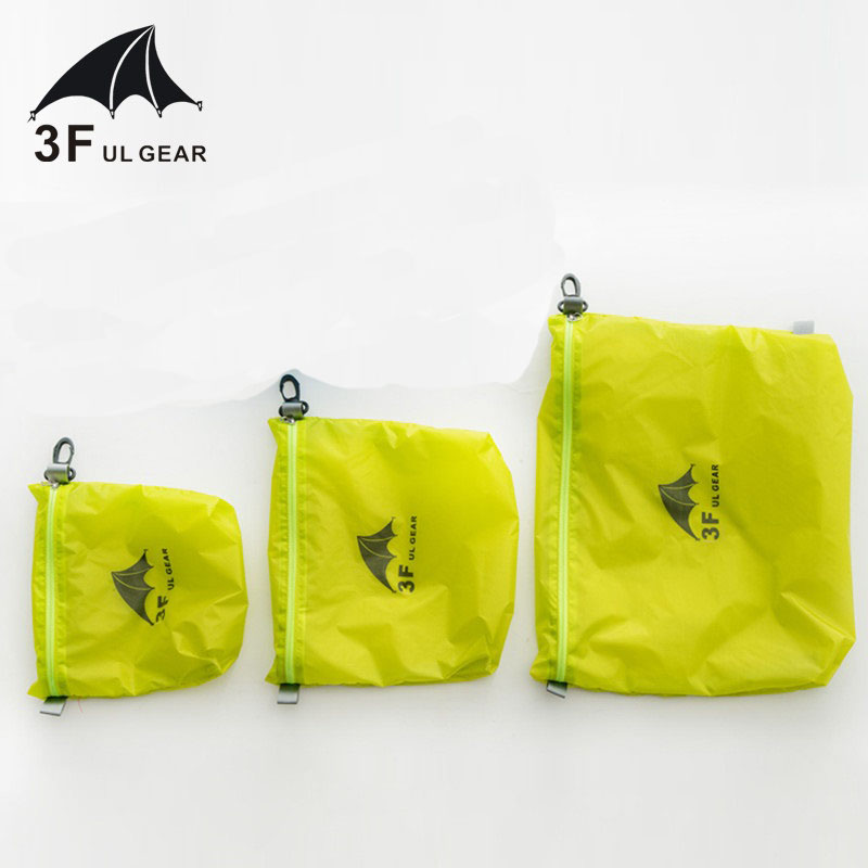 3F UL GEAR 15D Silicone 30D Cordura Waterproof Storage Bag Clothing Debris Storage Bag Storage Bag Swimming Bag