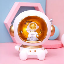 children safe bank for adults Spaceman night light storage of coins modern art Creative Craftwork bedroom decor accessories gift