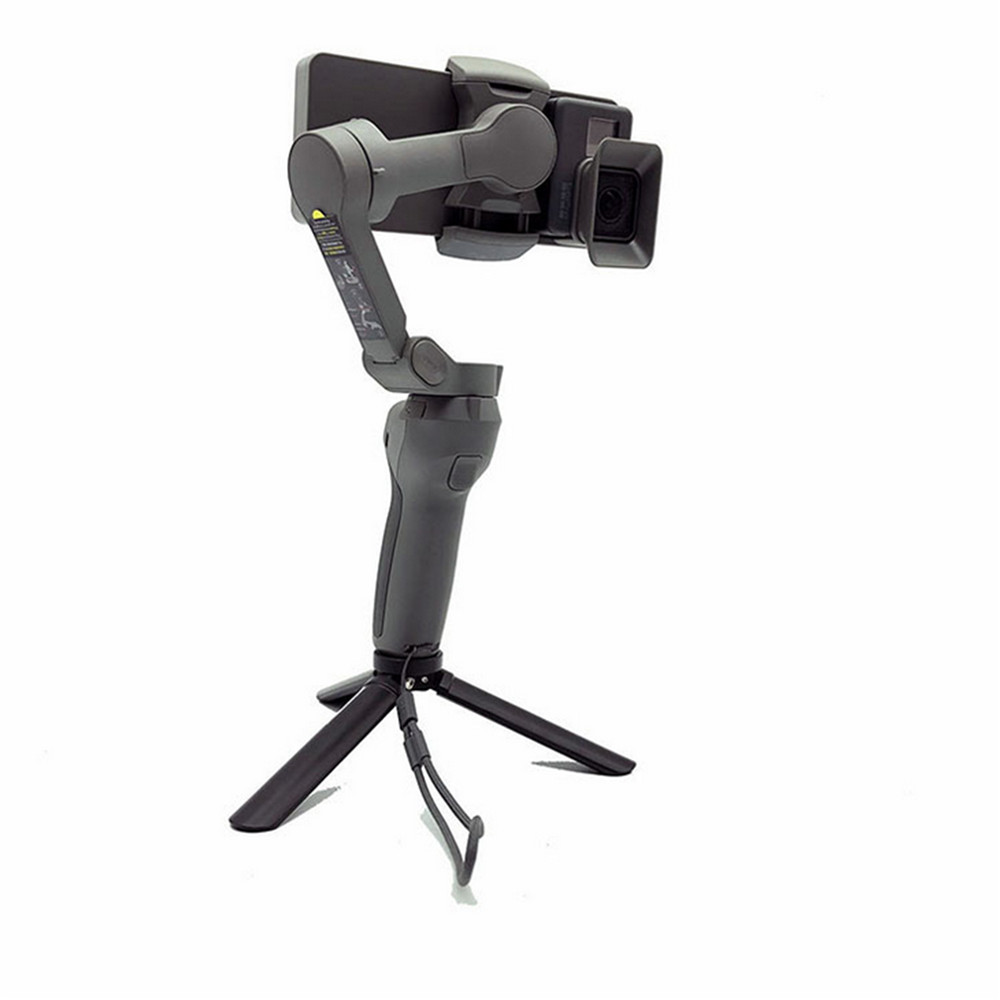 Camera Holding Portable Handheld Gimbal for DJI OSMO Mobile 3 to GoPro 5/6/7 Camera with Adapter