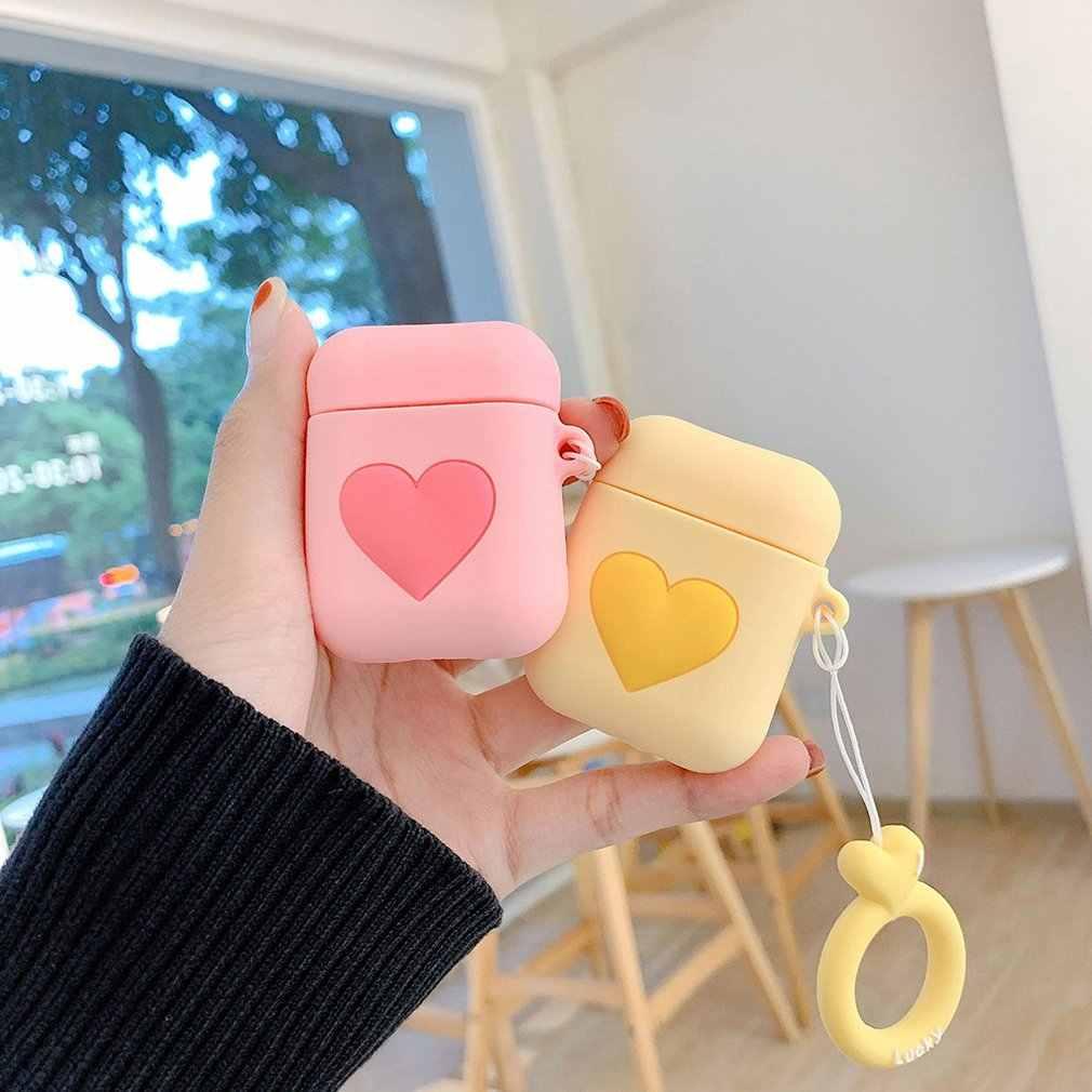 Cho Rung BOBA Trà Sữa Tai Nghe Không Dây Dành Cho Tai Nghe Airpods 2 Bảo Vệ Bao Dễ Thương Uống Chai Với Nhẫn dây Đeo