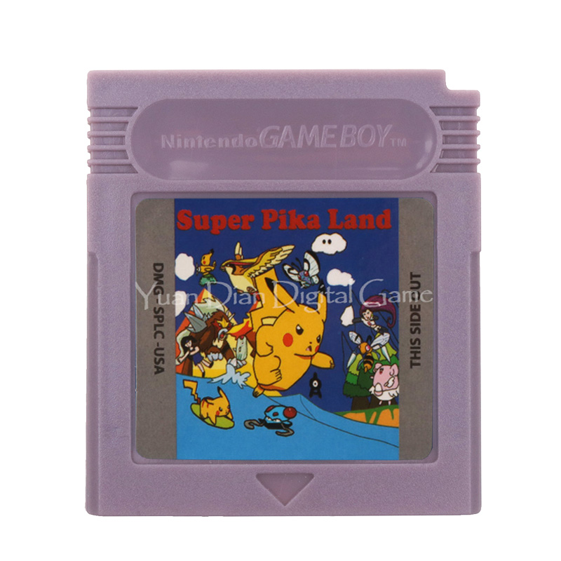 For Nintendo GBC Video Game Cartridge Console Card Poke Series Super Pika Land English Language Version 1