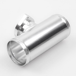 2.5'' Turbo Blow Off Valve Flange Adapter Pipe for Type-S RS BOV (Silver)