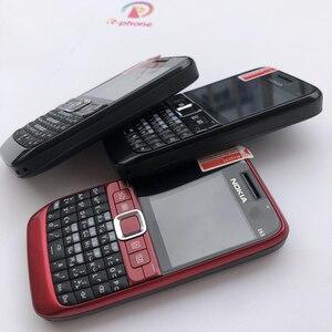 Image 3 - 100% الأصلي نوكيا E63 3G مقفلة الهاتف المحمول واي فاي بلوتوث لوحة المفاتيح QWERTY الهاتف المحمول ولوحة المفاتيح العربية الروسية