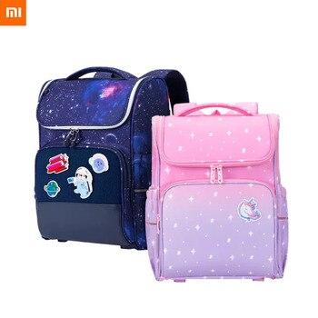 Xiaomi Xiaoyang Student Schoolbag Children Kids Girl Backpack Waterproof Satchel Burden Reducing Protect Spine For Boys детский рюкзак xiaomi xiaoyang one body с пеналом розовый y2715 y0444