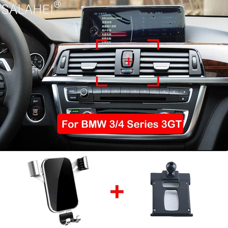 Support pour téléphone Mobile pour BMW 3 4 3GT série évent support de montage GPS support pour téléphone support de pince dans les accessoires intérieurs de voiture