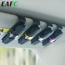Güneşlik araba gözlük klip güneş gözlüğü tutucu kılıfları Fastener Cip gözlük klip bilet kart kelepçe evrensel