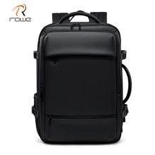 Роу Для мужчин рюкзак расширяемый Бизнес туристические рюкзаки