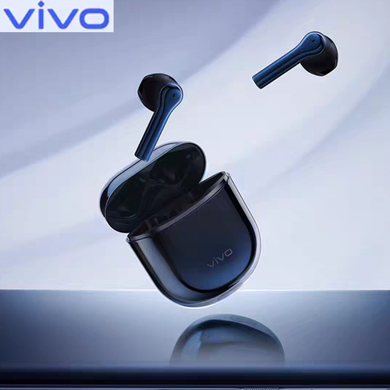 VIVO Original TWS Bluetooth QCC 5126 Earphone Wireless Earbuds True Wireless Headset 14.2mm Dynamic Units IP54 With Mic