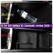 กล่อง Central รองถุงมือโทรศัพท์ผู้ถือคอนเทนเนอร์ถาดสำหรับ KIA Optima K5อัตโนมัติรุ่น2020 2021