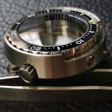 Sapphire Crystal Stainless Steel Tuna Canned Watch Case 200M Water Resistance Case Fit NH35A/SBBN031/SKX007 Modify Watch Case