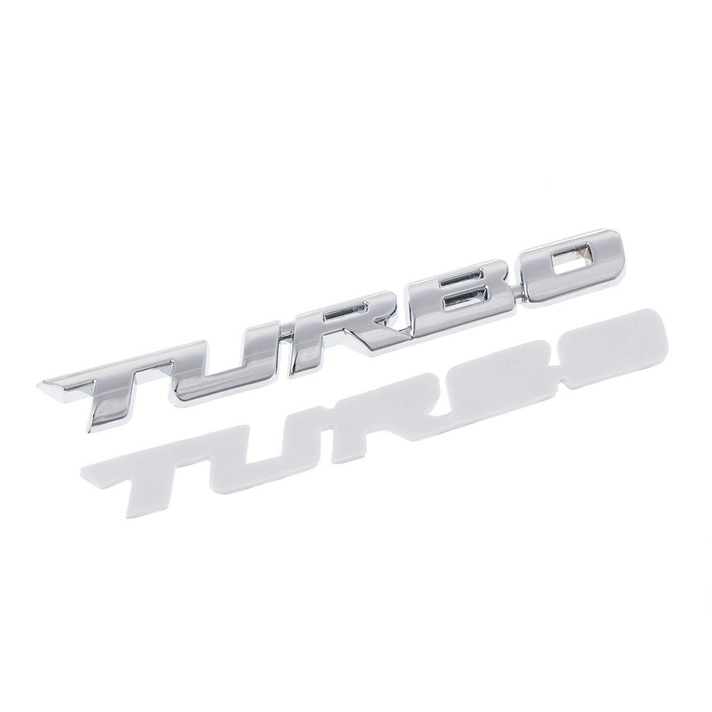 Black SUPERCHARGED Metal Grille Emblem Badge Decal Sticker 3D Turbocharged Car