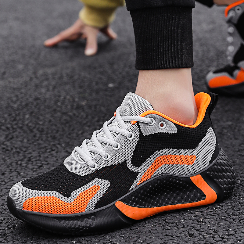 Size Mens Breathable Athletic Sports Casual Shoes Trainers Gym Sneakers