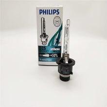 Frete grátis 1pc & 2 pces & 4 pces original philips lâmpadas de xenônio automotivo d2s x-treme vision + 50% 85122 para-bmw, para-mercedes benz