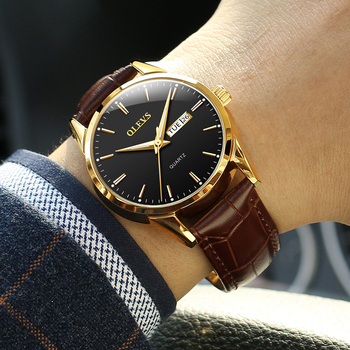 Brown Leather Black