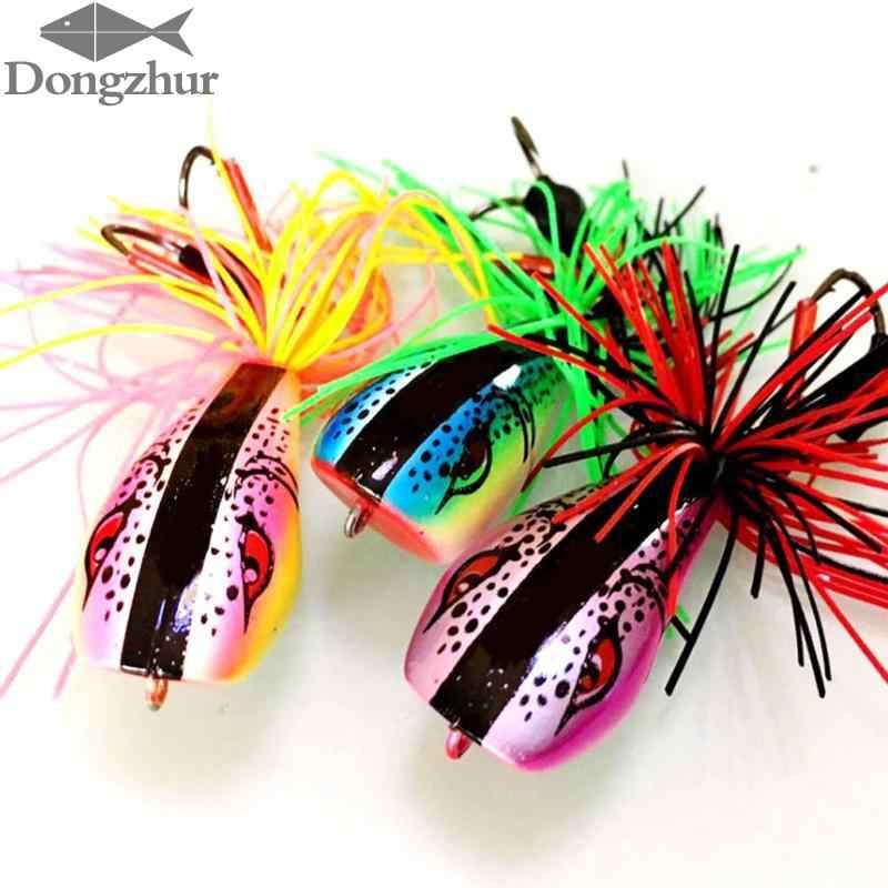 Lifelike Soft Tassel Skirt Frog Fishing Lure Jump Frog Lure 9cm Tassel-tailed Frog Lure For Bass Lure Kit Wobblers Crankbait