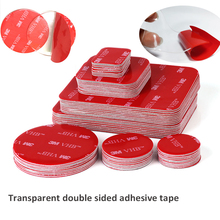 Double-Sided Adhesive Tape Acrylic Transparent High-Temperature-Resistance Waterproof