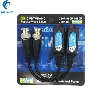цена на 10Pairs HD BNC Video Balun 5MP 4MP 3MP 960H 1080P 720P Twisted Transceivers UTP Cat5 HD CVI TVI AHD for CCTV CAMERA