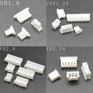 Housing-Shell Pitch-Connector Ph-2.0 JST XH 50pcs Sh-1.0 9/10/11-/..