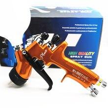 Pistola de pulverização alta atomização, pistola spray profissional de alta qualidade pgk plus rp, verniz transparente, 2020mm, novo, 1.3 pulverizador da pintura do ar