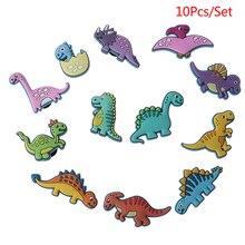 10 Pcs Dinosaur Cartoon Shoe Buckle Decoration shoe
