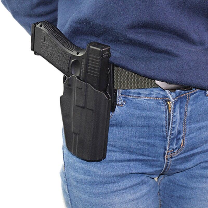 Coldre de Arma para Gls Tático Taurus Walther m2 9 – 40 Airsoft Pistola Arma Cinto Coldre Case Bolsa Caça Acessórios 579 Ppq
