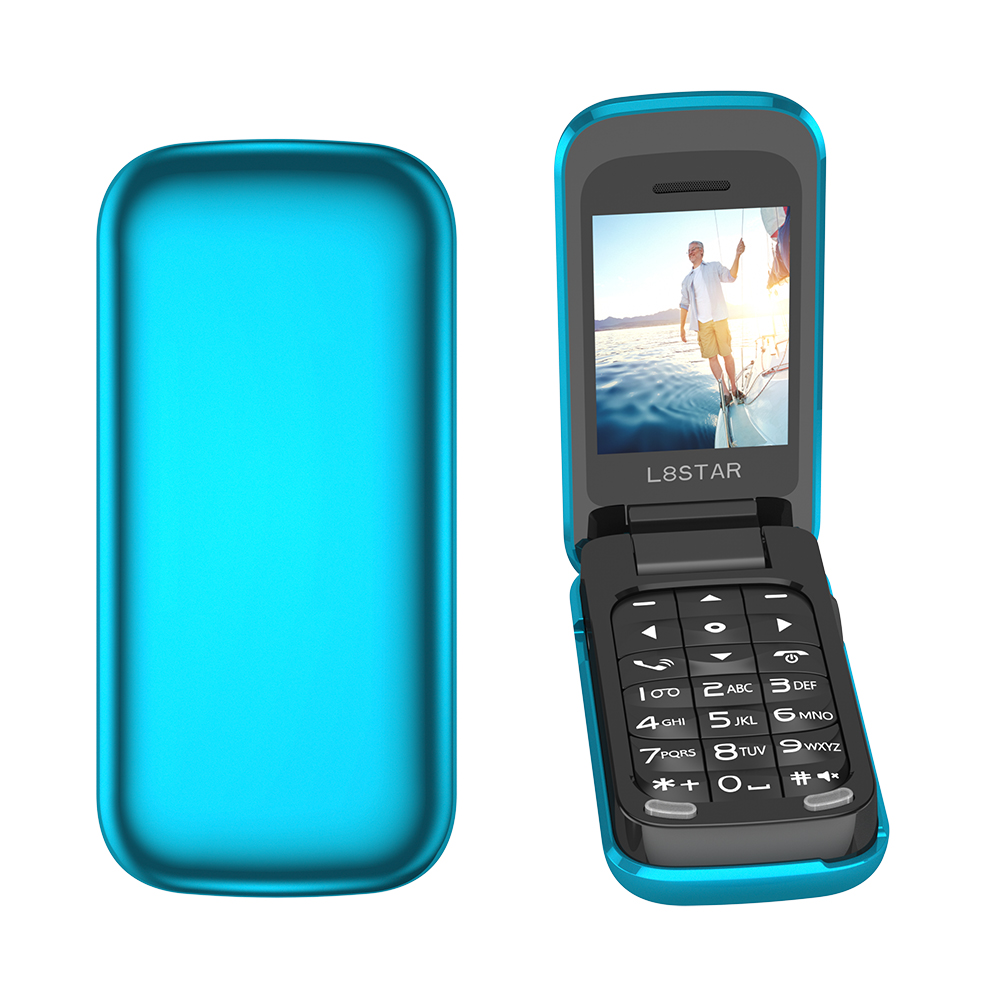 BM60 Small Flip Cover Mini Phone Bluetooth Flip Music Phone MP3 Music Player FM Radio