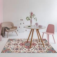 Flor de la alfombra de la habitación geométrica decoración del hogar estilo europeo étnicos alfombras de alfombras para dormitorio persa alfombrillas Vintage silla cojín