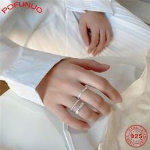 Женское кольцо с хвостом из серебра 925 пробы в минималистичном