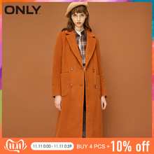 ONLY autumn Lapel Collar Wool Coat Jacket winter coat women| 11836U503