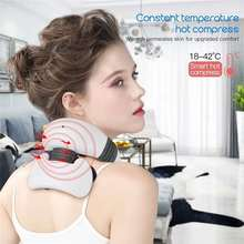 Cervical-Massager Heating Pulse-Heated Pain-Relief Magnetic Electric-Neck Far-Infrared