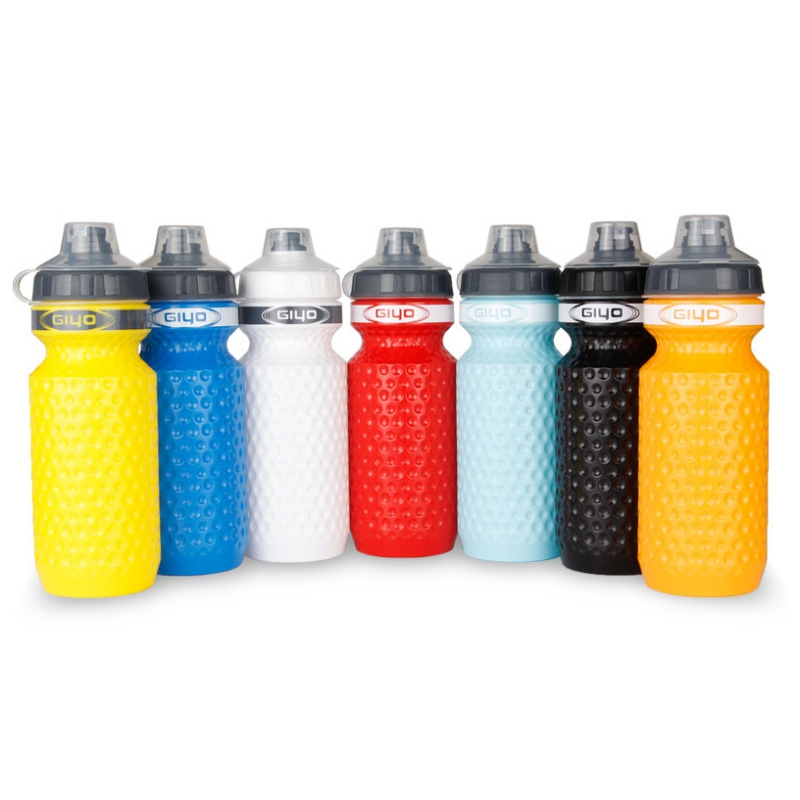 600ml Portable Outdoor Leak-proof Athletic Sports Squeeze Water Bottle Cycling Bicycle Water Kettle Reusable Drinking Cup