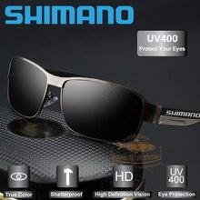 Shimano HD polarizados UV 400 hombres De pesca Gafas De Sol nuevo hombre genial Gafas De Sol De conducción De pesca Gafas De Sol De tonos