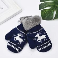 Детские перчатки для малышей; рождественские варежки для новорожденных; теплые зимние перчатки для маленьких девочек и мальчиков; Детские рукавицы для новорожденных