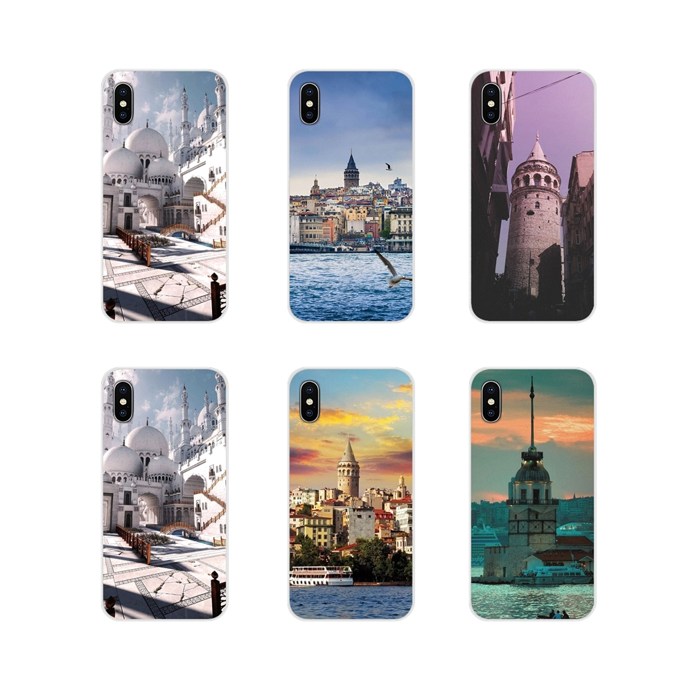 TPU Cases Turkey <font><b>Istanbul</b></font> Sceneary Building Painted For Xiaomi Mi4 Mi5 Mi5S Mi6 Mi A1 A2 5X 6X 8 9 Lite SE Pro Mi Max Mix 2 3 2S image
