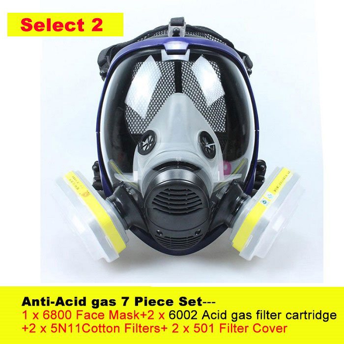Acid gas 7 piece set
