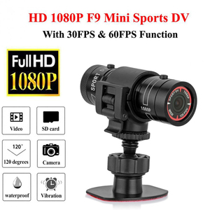 Motorcycle Bike Camera Full HD 1080P Mini Sports DV Camera Bike Motorcycle Helmet Action DVR Video Cam For Outdoor Sports