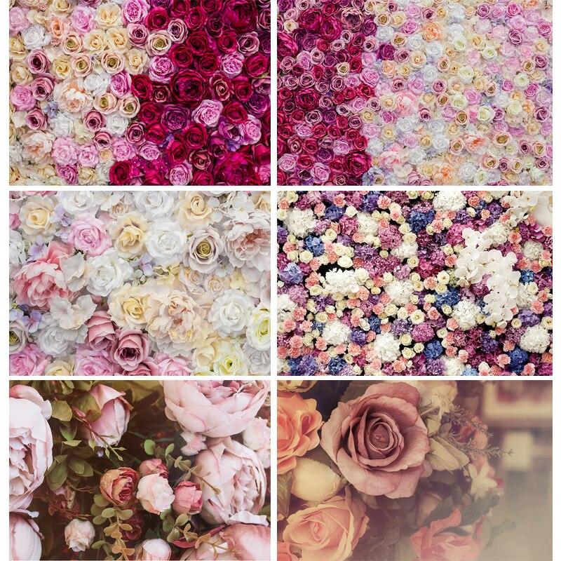 Виниловые свадебные фоны для фотосъемки с розами, вечерние настенные фоны, декорация на день рождения, Фотофон 20104MGQ-02