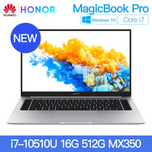 Neue HUAWEI HONOR MagicBook Pro 2020 Laptop Notebook Computer 16,1 zoll Intel Core i5-10210U/i7-10510U Nvidia MX350 PCIE SSD FHD(China)